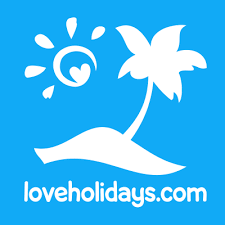 company logo of loveholidays for online reviews about holiday