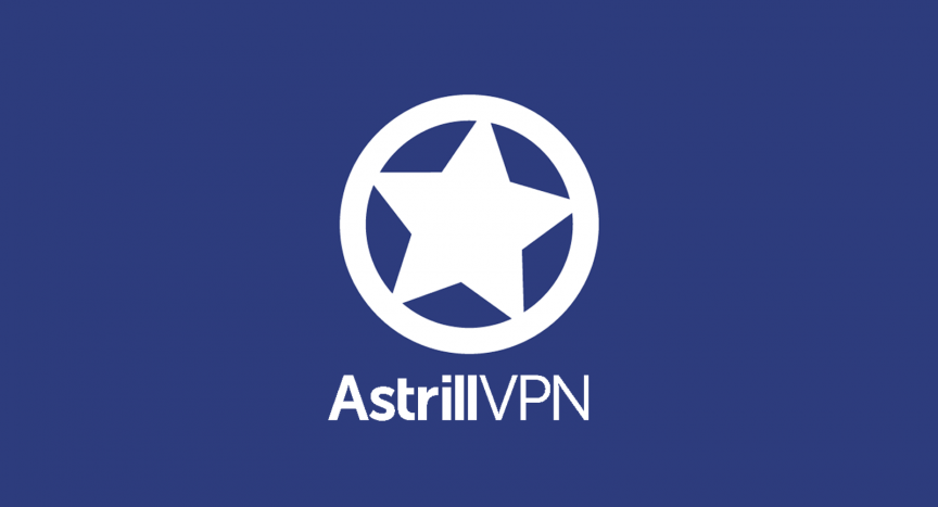 astrill VPN logo for online reviews about Astrill VPN