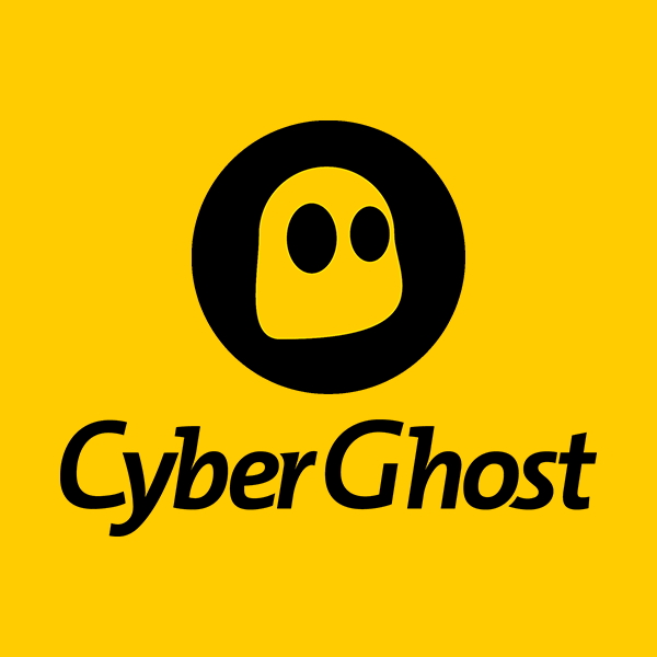 cyberghost logo for online reviews about CyberGhost